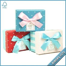 High quality best price empty small gift box packaging