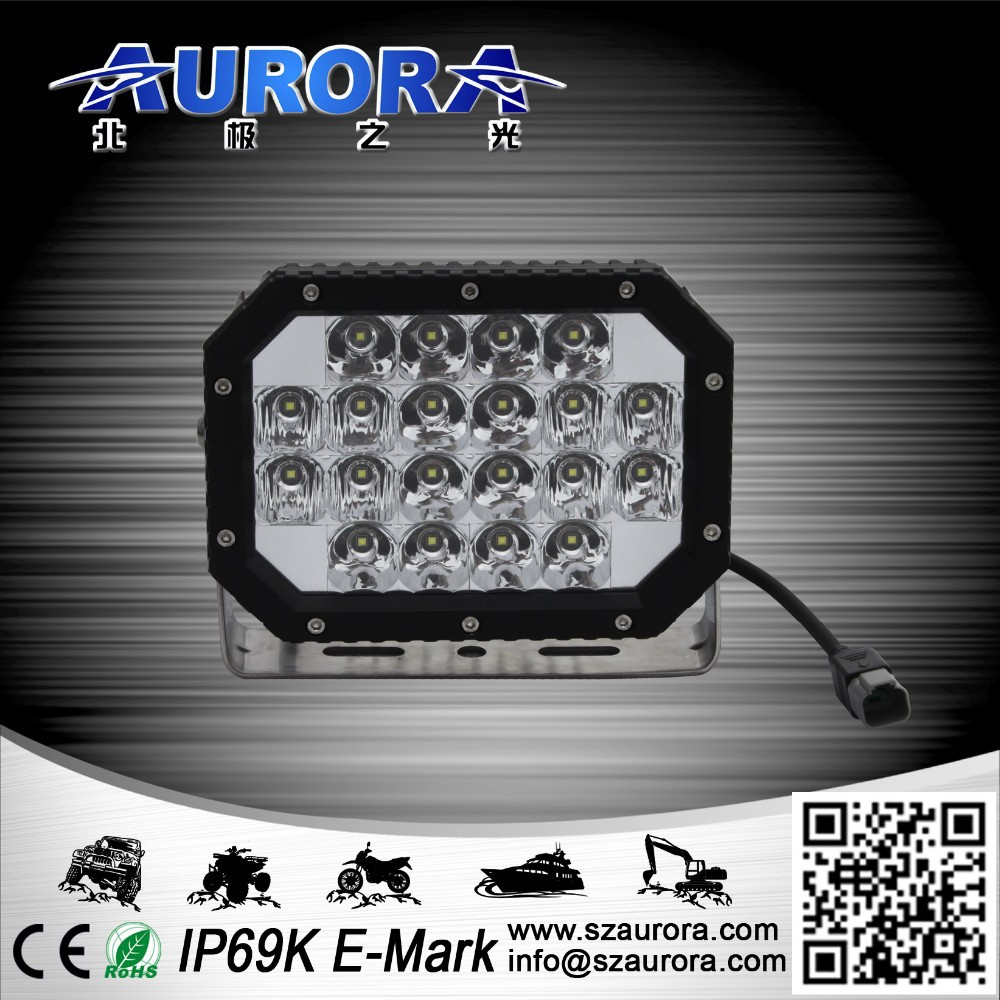 Hot sell New products 6inch 60w quad led light atv offroad