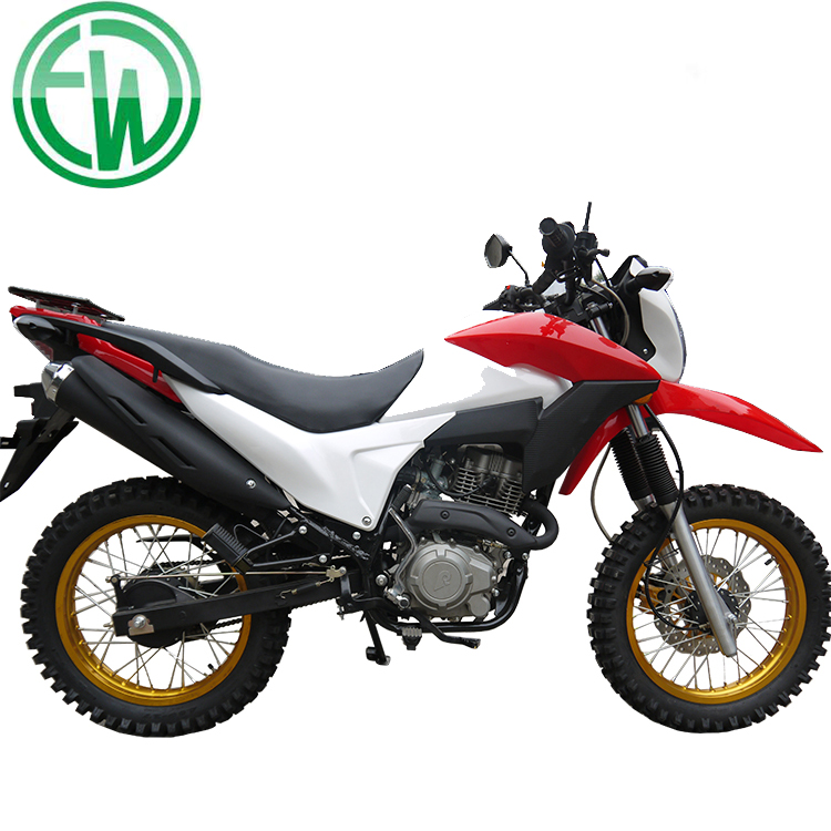 New Red Chinese Adult Automatic 200cc Motorcycle