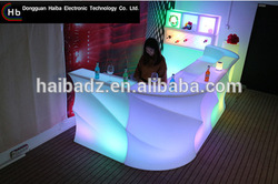 furniture china supplier Modern Rechargeable Colourful Glow Illuminated Bar Led Furniturecommercial bar counters design