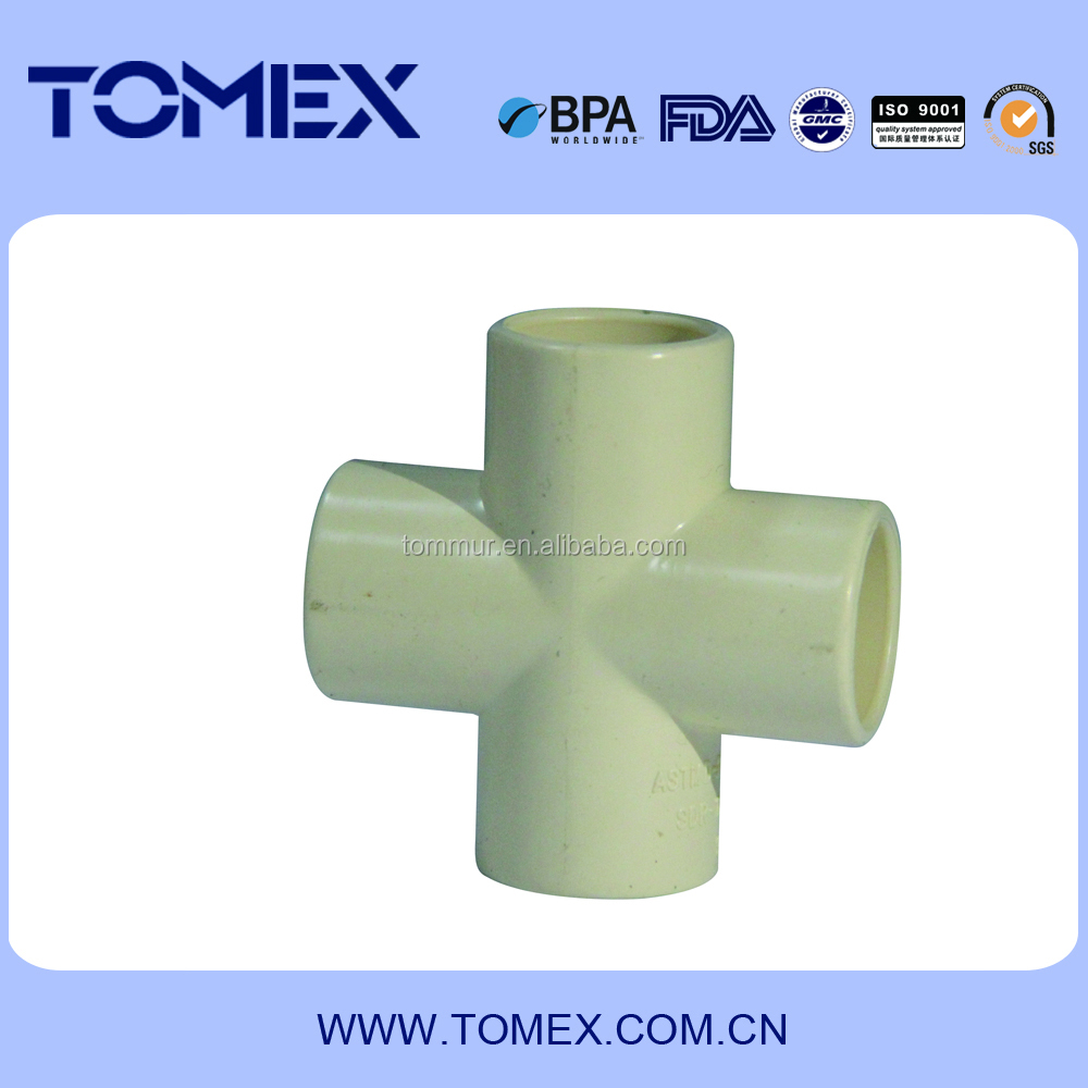 Chinese Manufacture good selling best price for cpvc D2846 cross