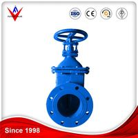 Certified To ISO-9001 Factory Customized Din Standard Metal Seated Gate Valve For Hdpe Pipe