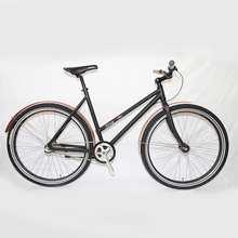 700C 6061 Aluminum Classic Vintage Fixie City Bike
