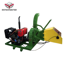 Portable wood chipper/ wood chipper/ small diesel engine wood chipper
