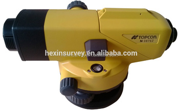 Length 215mm auto level survey instrument Topcon AT-B3 auto level instrument price
