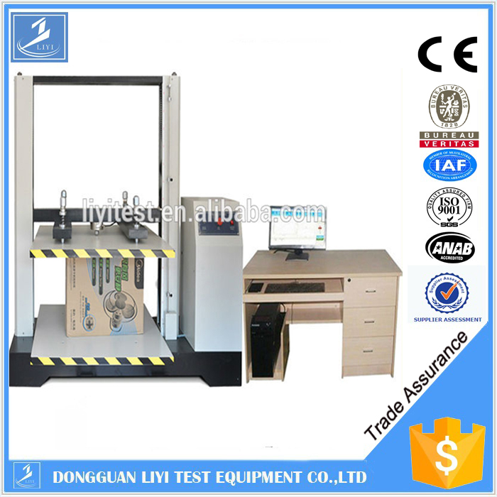 Automatic cube compression testing machine