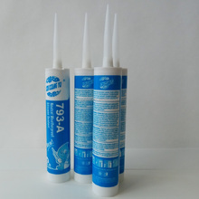 acp transparent structural joint glass rtv acetic silicone sealant