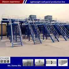 Cnc steel structure eps wool sandwich panel production line/Eco-friendly eps cement sandwich wall panel production machine