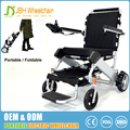 Portable handicapped power lightweight 180W brushless moter 23.5kg electric wheelchair