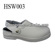 water resistant anti static non slippery safety sandals for cleaning staff