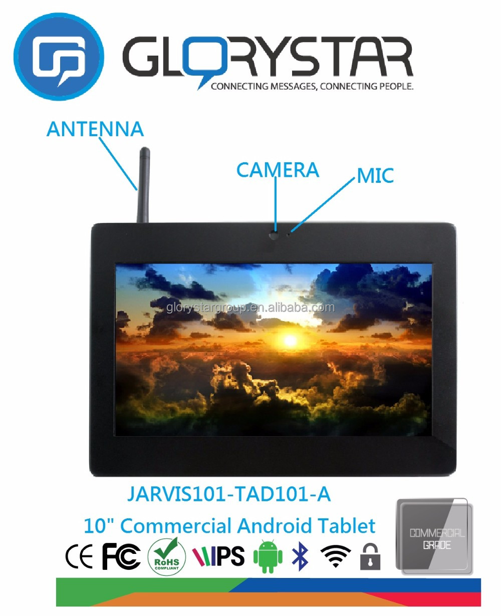 china cheap 10 inch LCD tablet advertising android tablet