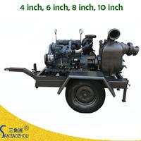 self priming flow 180 m3/h lift head 9m 6 inch water pump