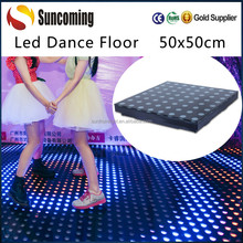 Portable 50x50cm Cheap Night Club Used Led Dance Floor for Sale