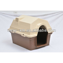 Luxury outdoor plastic pet house for large dogs