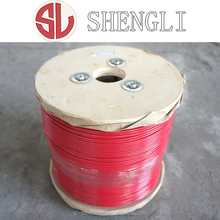 Non Transparent PVC Coated Galvanized Steel Wire Rope