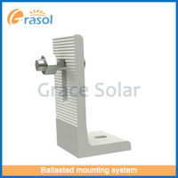 Solar PV Panel Bracket System Components With AS/NZS 1170&TUV Certificate