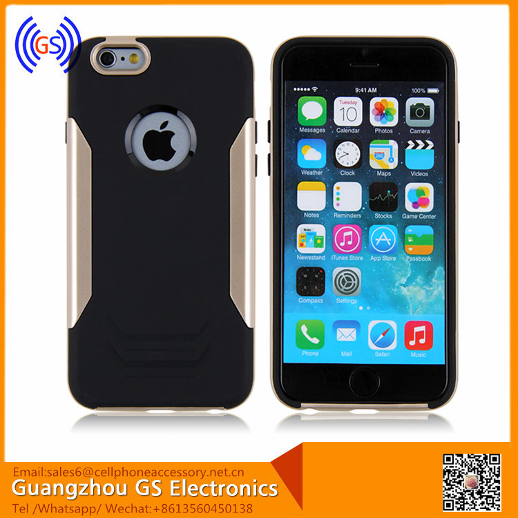 Fashion Design Hybrid Mobile Phone Accessories For Iphone 6 Factory In China