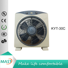 12 Inch 30 cm 3 Speeds 5 blades Air Cooling Box fan with CE certificate