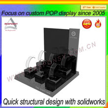 pop shopping mall custom lap top custom acrylic watch display shelf