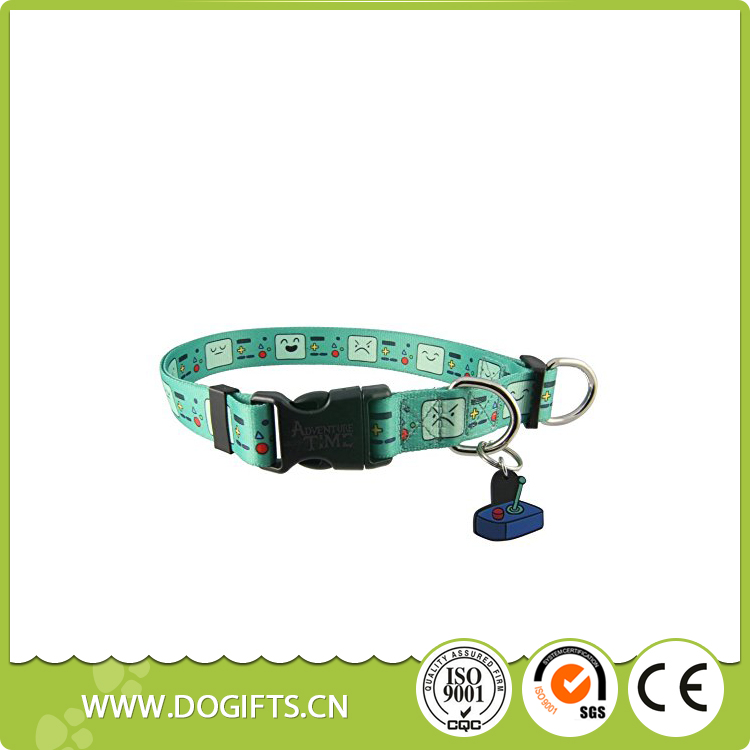 Adjustable and unique nylon dog collars with buckle 1011