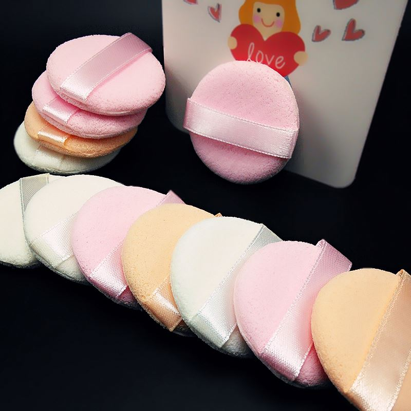 Factory supplier newest fashionable beauty makeup puff cosmetic cotton puff fastest delivery