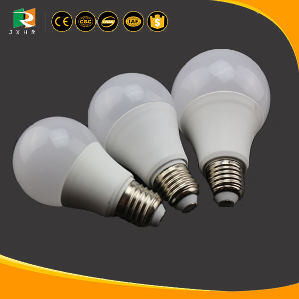 AC85-265V plastic light bulb bottle, color temperature changing led light bulb with CE& RoHS approved