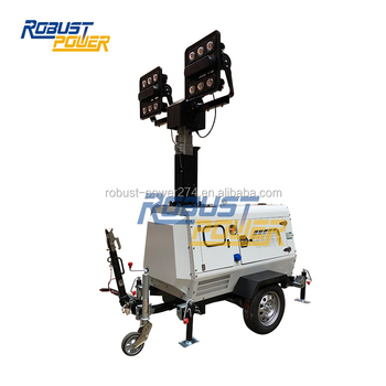 Stabilizer Supports Mining Spec Mobile Lighting Tower