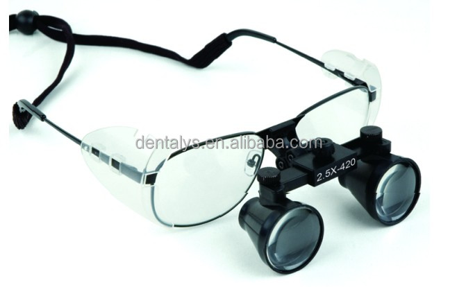 2.5X Dental loupes and surgical loupes Magnifier
