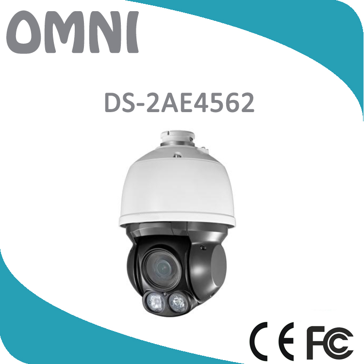 DS-2AE4562 4 Inch IR High Resolution Mini IR Speed 1/3' Sony Super Had CCD Dome Camera