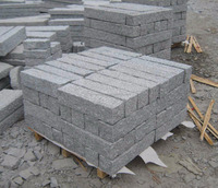 Light grey G603 granite kerbstone exterior landscaping stone cheap price