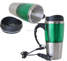 Wholesale 12V Heated Stainless Steel travel Auto Mug