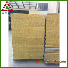insulated fireproof rockwool sandwich panel