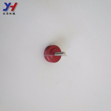 New design custom aluminum anodized colored hardware shock absorber end cap