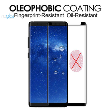 wholesale factory price nuglas 0.33mm 9h explosion-proof case friendly tempered glass screen protector for samsung galaxy note 8
