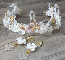 Bridal pageant promotion luxury tiara crown for wedding
