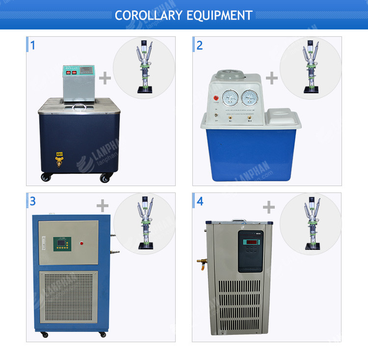 Laboratory Lower Price Double Layer Photochemical Glass Reactor