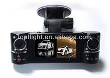 Dual Lens Car Camera Vehicle DVR Dash Cam Two Lens Video Recorder Blackbox F600