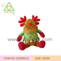 Plush Christmas Deer