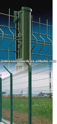Fence for highway and roadway protection