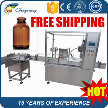 Famous brand electric parts automatic 50ml vial filling machine,filling capping machine,filling machine for vial