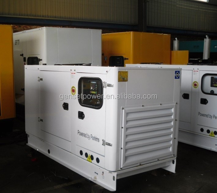 remoted start 20kva silent type diesel generator with Perkins engine 404A-22G1