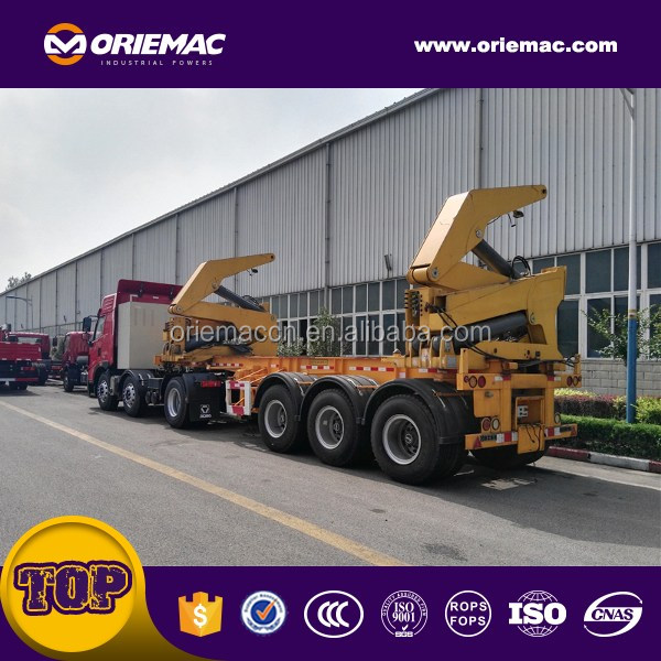 Oriemac 37ton side loader container truck for sale MQH37