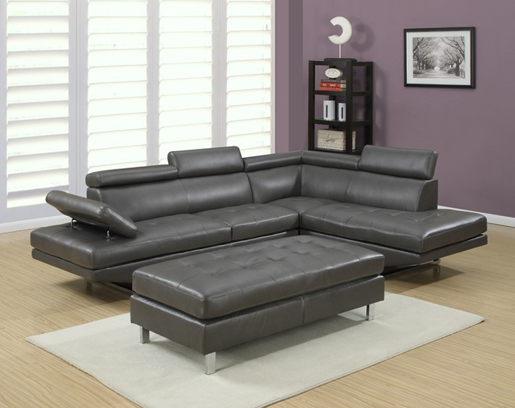 Living Room Sofa & Sectional sofa set with adjustable armrest and back supports & Professional sofa manufacturer