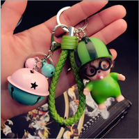2017 hot selling Monchichi Definitely Cute Bunny Baby Doll Keyring Bad&Phone Pendant Bag Charms Ornament Monchichi Keychain