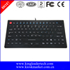 IP68 Compliance Small Footprint Washable Silicone Medical Keyboard