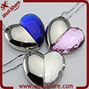 Full Capacity Crystal lock Heart Usb 2.0 Enough Memory Stick Thumb Jewelry Pen Necklace Silver Gold