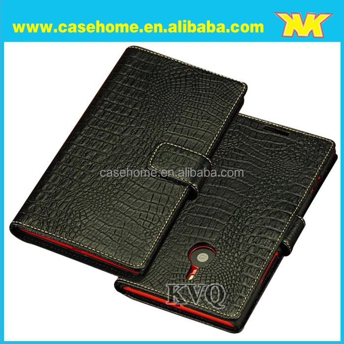 Hottest and elegant super quality luxury unique designpouch leather case for nokia xl