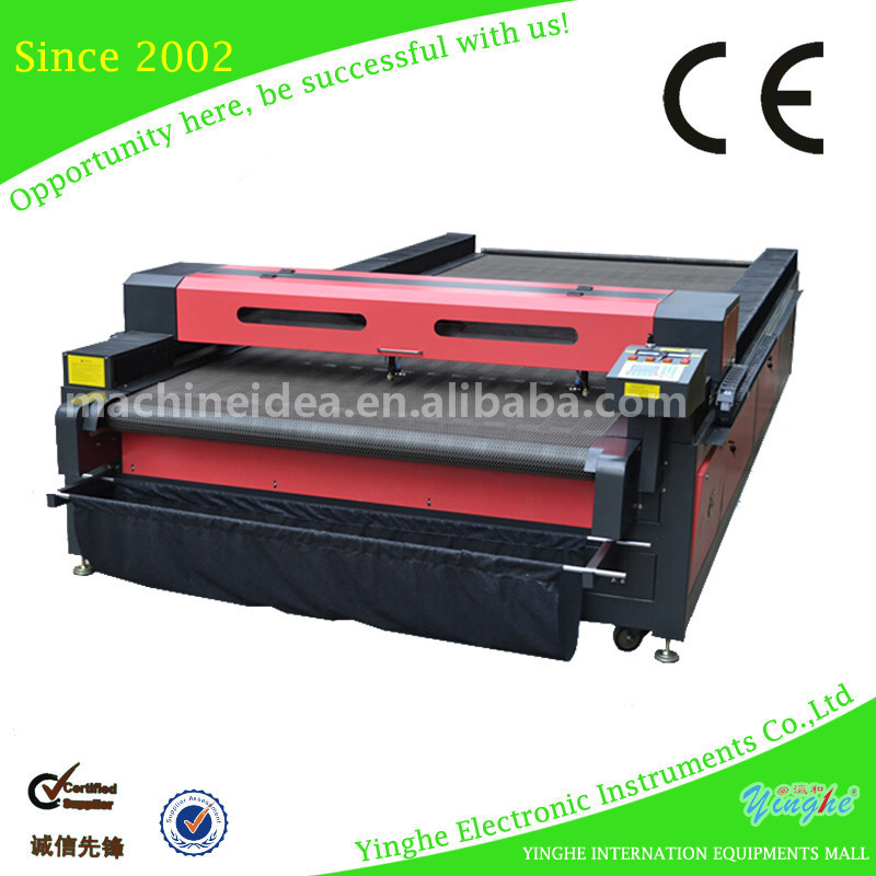 Automatic Muliticolor laser roll to roll sticker label cutter