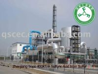 Zhenjiang Sopo 400KT/a Sulfuric Acid plant from Sulfur