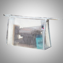 Transparent Plastic Bikini Zip Bag